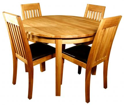 MANGO round dining table 110 cm with chairs.jpg
